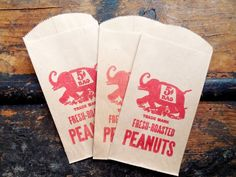 Vintage Circus Peanut Bags on Etsy Circus Peanuts, 5 Cents, Circus Theme, Vintage Circus, Ephemera, Paper Shopping Bag, Art Projects, Elephant, This Or That Questions