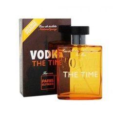 VODKA THE TIME Perfume Masculino Paris Elysees 100ML - Loja Virtul Cabanascuba