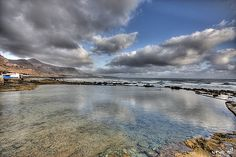 Reflejos de Cristal.  Charco de San Lorenzo. Isla de Gran Canaria. By Sergio J. Gil Gil