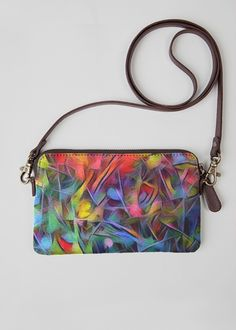 Leather Statement Clutch - Australica Exotic Palm by VIDA VIDA enDYJgE