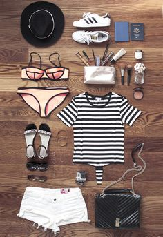 Packing tips, Essentials to pack, Travel fashion, Travel style from Grease and Glamour