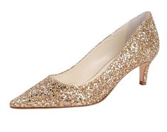Gold & Glitter? We can't imagine a better combo! Add a statement to your outfit with the Champagne in gold glitter this season! This shoe is a guaranteed head turner! Purchase a pair today at https://www.buttershoes.com/champagne-in-glitter-in-gold-glitter #somethingbleubridal #somethingbleu #bridalwear #weddingfashion