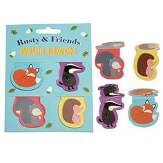 Set Of 4 Rusty And Friends Magnetic Bookmarks dotcomgiftshop http://www.amazon.co.uk/dp/B01411RJMK/ref=cm_sw_r_pi_dp_B9eKwb05YFRDX