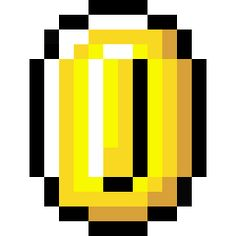 Retro Coin Icon from the Super Mario Icons by Sandro Pereira Pixel Art, Super Mario Party, Super Mario Bros, Perler Beads, Mario Tattoo, Coin Icon, 80s Design, 8bit Art, Mario Brothers