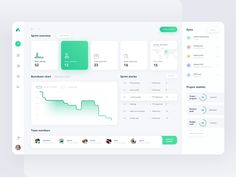 Sprint Report Dashboard - Excel Tips about you searching for. Dashboard Design, Ui Ux Design, Layout Design, Application Ui Design, Design Sites, Flat Web Design, Web Dashboard, Web Layout, Interface Design