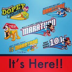 The wait is over! 2014 Walt Disney World Marathon Weekend is here! runDisney