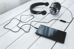 Smartphone, Mobil, Handy, Musik, Hören, Kopfhörer