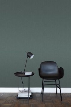 ESTAhome behang effen denim jeans structuur vergrijsd groen - 148706 Most Beautiful Pictures, Cool Pictures, Told You So, Chair, Table, House, Furniture, Denim Jeans, Home Decor