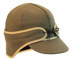 Stormy Kromer Men s Wool Nylon Thinsulate-lined Brimmed  Rancher  Cap 718998ce8280