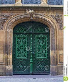 Old European Doors Royalty Free Stock Photos - Image: 6063968