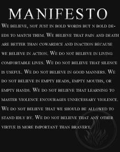 The manifesto
