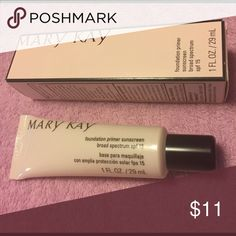 40% off MARY KAY products Foundation primer sunscreen provides the perfect canvas for a flawless foundation application Mary Kay Makeup Face Primer