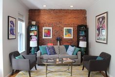 House Tour: A Colorful and Cozy Boston Apartment   Apartment Therapy