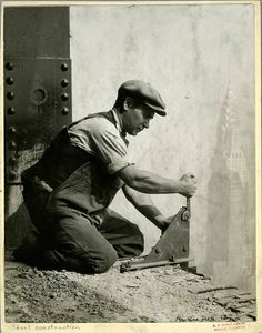 Empire State construction, Lewis Hine.