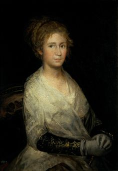 Francisco Goya portrait of josefa bayeu Romanticism Francisco Goya, Spanish Painters, Spanish Artists, Web Gallery Of Art, Online Gallery, Portraits, Art Database, Old Master, Les Oeuvres