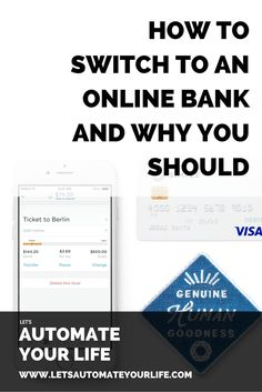 This is so good! If you haven't tried an online bank you definitely should consider it! #personalfinance #banking Personal finance apps, money apps, budget apps, student loan apps, debt apps, credit score apps, bill payment apps, saving apps, investing apps, career apps, side hustle apps, mint, credit karma, simple, robinhood, bank apps, credit union apps, level money, ynab, zillow, personal capital, apps for millennials, studentloanhero, student loan hero