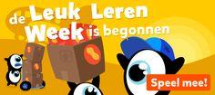 De Leuk Leren Week is begonnen