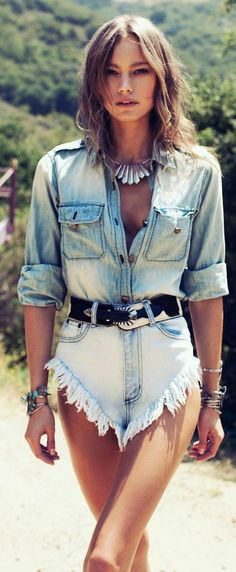 Denim on Denim Fashion Trend