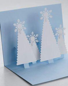 Pop up Christmas trees