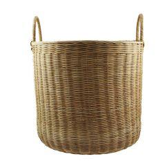 Kurv Amalie Rund stor Laundry Basket, Wicker Baskets, Home Decor, Homemade Home Decor, Interior Design, Home Interiors, Decoration Home, Bathroom Laundry Hampers, Home Decoration