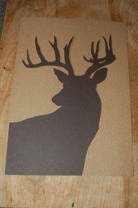 Woodland Animal Silhouette Art | THEBASICSbypaulbyrondowns's Blog