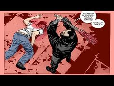 The Walking Dead Glenn meets Lucille (comics) UNCENSORED/ IN COLOR