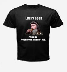 TShirt  DUCK DINASTY   Life is Good T shirt   by alinasikinshop, $13.99