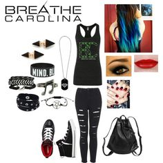 """Breathe Carolina concert outfit"" by johanna-kat on Polyvore"