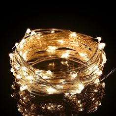 Excelvan 10m/33ft 100 LED String Lights Copper Wire LED Starry Light,USB Operated Waterproof Fairy Lights For Wedding,Home,Bedroom,Patio,Garden and Party,Holiday Decoration (Warm White) *** Trust me, this is great! Click the image. : Wedding Decor