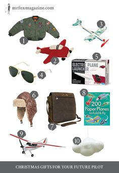 Brilliant gifts for your future pilot