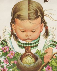 Vintage Children's Art Illustration Eloise Wilkin on Etsy