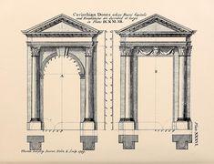 Designs for Corinthian door frames