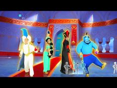 Prince Ali - Disney's Aladdin - Just Dance 2014 (Wii U) - YouTube