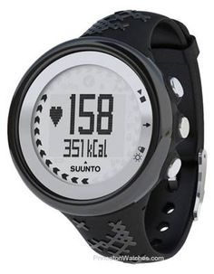 Suunto M5 Heart Rate Monitor without Belt  Womens Black  Silver One Size -- Check out this great product.