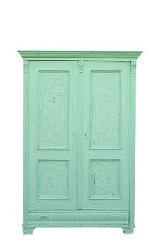 Mint cupboard by De Vintageloods