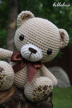 PATTERN Amigurumi cuties bunny puppy and teddy by lilleliis
