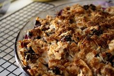 A Reader Recipe: Paleo Blueberry Crumble