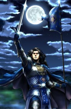 Fingolfin. Any-one know the artist? Apparently this was on a cake decorating…