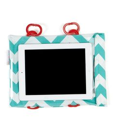 Chevron Tablet Case to use in the car for kids.