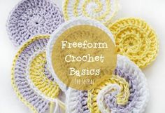 Freeform Crochet Basics, Part 5, The Nautilus Shell | Snovej Food & Craft Adventures | Bloglovin'