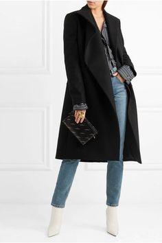 Balenciaga   Asymmetric wool coat   NET-A-PORTER.COM