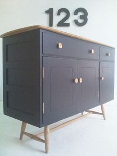 Our refurbished ercol windsor sideboard from ebay Ercol Chair, Ercol Furniture, Upcycled Furniture, Industrial Furniture, Painted Furniture, Ercol Sideboard, Living Spaces, Living Room, Furniture Manufacturers