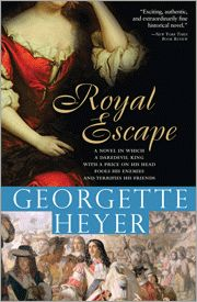 Royal Escape stands alone in Georgette Heyer's oeuvre, since it is the only novel she wrote which is set in the Cromwellian period and focuses on England's Civil War. Today, Alicia Quigley, reader and writer of romance novels, shares her views on this unique Heyer story. The hero of this tale is the dashing and charming young Charles II.