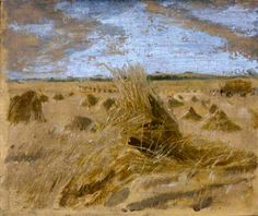 Cornfield Harvest, by William Nicholson on Curiator, the world's biggest collaborative art collection. Winifred Nicholson, William Nicholson, Seascape Paintings, Your Paintings, Nocturne, Landscape Art, Landscape Paintings, St Johns College, Digital Museum