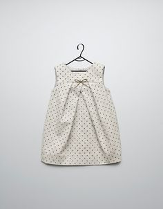 polka dot pinafore dress - Dresses - Baby girl (3-36 months) - Kids - ZARA