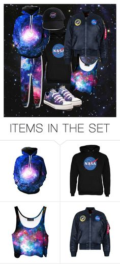 """""""i'm on a space case // 💫"""" by mothercranberry ❤ liked on Polyvore featuring art"""