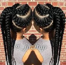Image result for braided hairstyles weave