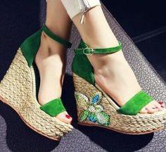Imágenes 2017Botas Zapatos Sandalias Verdes De 12 Mejores En Las vwNn0Om8