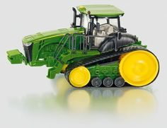 SIKU Farmer Metal Die-Cast 1:32 John Deere 8360RT Caterpillar Row Crop Toy Tractor