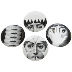 """""""Tema E Variazioni"""" Fornasetti Plates SATURDAY SALE 